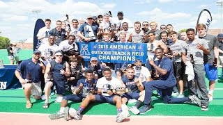Download UConn Men's Track & Field Wins 2015 American Conference Outdoor Title Video