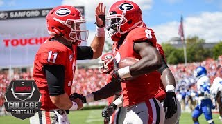 Download College Football Highlights: Georgia Bulldogs defeat Middle Tennessee 49-7 | ESPN Video