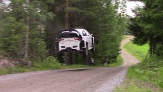 Download Rally Finland 2017 Test - Flying Toyota Yaris WRC Video