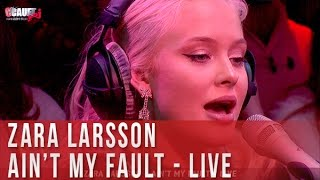 Download Zara Larsson - Ain't my fault - Live - C'Cauet sur NRJ Video
