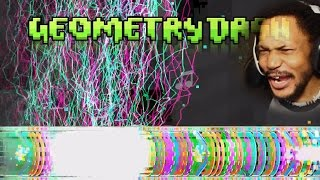 Download THESE LEVELS ARE OUT[RAGE]OUS | Geometry Dash #15 Video