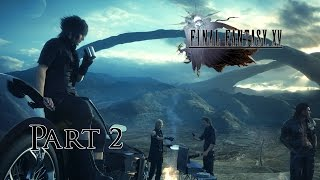 Download Final Fantasy 15 Part 2, First Hunt, Peace to the Beach (100% Walkthrough) [PS4 1080p 60FPS] Video
