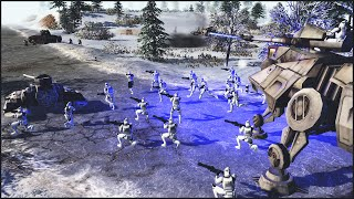 Download CLONES VS COMMIES - Star Wars: Galaxy at War Mod Gameplay Video