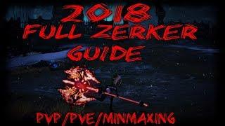 Download 2018 Full Tera Zerker Guide (PVP/PVE/MinMaxing) Video