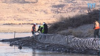 Download EXCLUSIVE: DAPL Builds Razor Wire Wall On Native Burial Ground Video