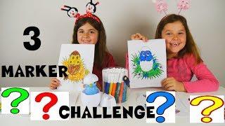 Download 3 Marker Challenge Easter Edition Incubabies // 3 Μαρκαδόροι Πρόκληση για παιδιά Πάσχα αβγοζωάκια Video