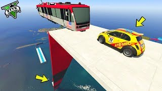 Download GTA 5 ONLINE 🐷 MEGA RAMPA MODDATA !!!🐷 GARE PARKOUR 🐷N*213🐷 GTA 5 ITA 🐷 DAJE !!! Video