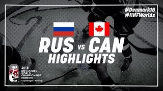 Download Game Highlights: Russia vs Canada May 17 2018 | #IIHFWorlds 2018 Video