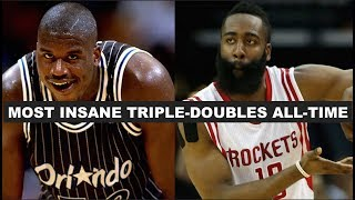 Download 5 Craziest Triple-Doubles In NBA History Video