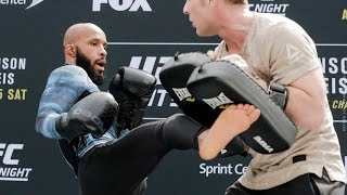Download UFC on FOX 24: Demetrious Johnson Open Workout (Complete) – MMA Fighting Video