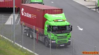 Download 4K| Scania P360 Moving Containers Video