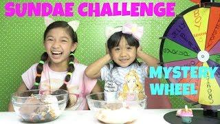 Download MYSTERY WHEEL OF SUNDAE CHALLENGE Video
