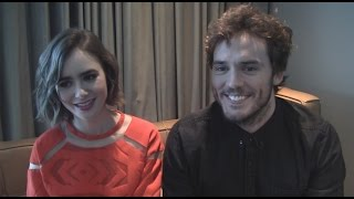 Download Lily Collins and Sam Claflin Talk 'Love, Rosie' Video