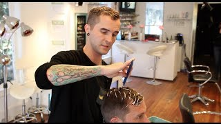 Download HAIR TUTORIAL: BALAYAGE FOR MEN - BROLAYAGE HAIR COLOR TECHNIQUE - MENS HAIR COLOR Video