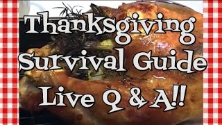 Download Thanksgiving Survival Guide ~ Live Q & A ~ Noreen's Kitchen Video