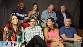 Download 'Brooklyn Nine Nine' Cast on Being Saved by NBC | Comic-Con 2018 | TVLine Video