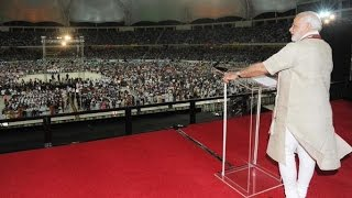 Download LIVE: Narendra Modi Speech at Dubai Cricket stadium | Rockstar Welcome Video