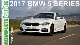 Download 2017 BMW 5 Series first drive review by CompleteCar.ie Video
