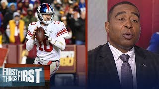 Download Nick and Cris react to the New York Giants benching Eli Manning | FIRST THINGS FIRST Video