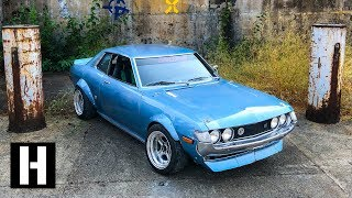 Download Classic Celica With Modern Guts Drifts our Secret Shredhouse Video