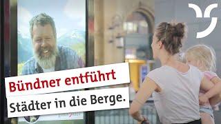 Download The Great Escape | Bündner entführen Städter in die Berge - Graubünden Tourism Video