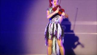 Download Lindsey Stirling Providence RI 2016 Summer Tour Makes cute mistake Video
