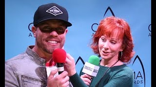Download Reba McEntire Giving an Anxious Dustin Lynch Advice is Presh! Video