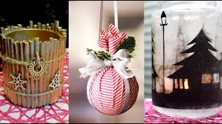 Download 15 CHRISTMAS & WINTER DIY Projects [Simple crafts and ideas] Video