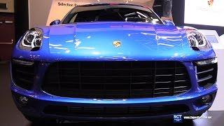 Download 2017 Porsche Macan Turbo - Exterior and Interior Walkaround - 2017 Montreal Auto Show Video
