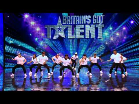 Dance troupe United We Stand - Britain's Got Talent 2012 audition - International version