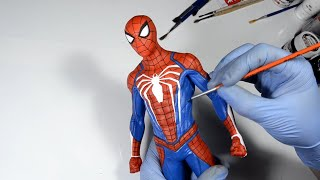 Download Marvel's Spider-Man PS4 Statue Painting | Crafty Art #SpiderMan Video