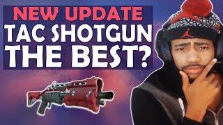 Download NEW SHOTGUN UPDATE - TAC SHOTGUN THE BEST? TAC VS PUMP COMPARISON - (Fortnite Battle Royale) Video
