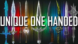 Download Skyrim - All Rare & Unique One Handed Weapons Video