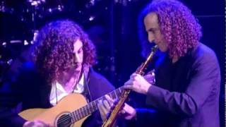 Download Kenny G with his son, Max G Video