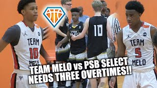 Download TRIPLE OVERTIME!! | Che Evans, Ryan Conway & Team Melo vs PSB Select at Southern Jam Video