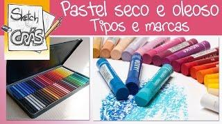 Download Pastel Seco e Oleoso, tipos e marcas - Sketch Crás Video