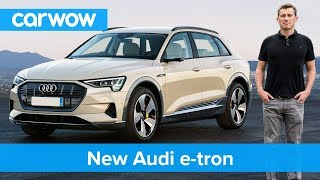 Download Audi's Tesla rival finally revealed: full details on the 2019 all electric e-tron SUV Video