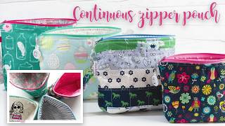 Download Continuous Zipper Pouch - Fully Lined Video