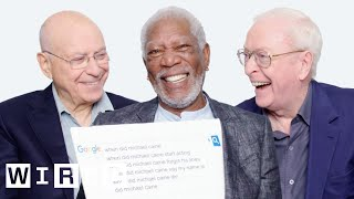 Download Morgan Freeman, Michael Caine, and Alan Arkin Answer the Web's Most Searched Questions | WIRED Video