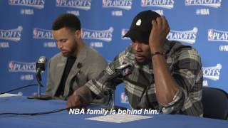 Download Durant's message to Isaiah Thomas: The NBA family is behind you Video