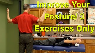 Download Improve Your Posture/3 Exercises Only Video