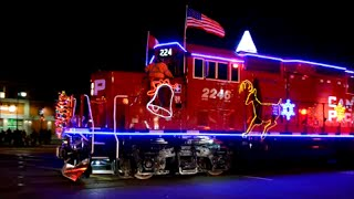 Download CP HOLIDAY CHRISTMAS TRAIN IN MONTREAL QUEBEC Video