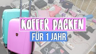Download KOFFER PACKEN FÜR AUSLANDSJAHR USA 2018/19♥︎ Jackie Alice Video