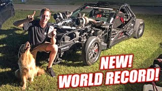 Download Leroy RETAKES The Stick Shift Corvette WORLD RECORD!!! *EXTREME FREEDOM WARNING* Video