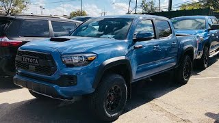 Download 2018 Toyota Tacoma TRD PRO walk around/new color Video
