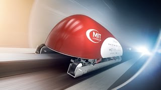 Download MIT set for SpaceX Hyperloop Pod Competition Video