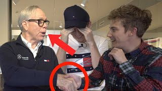 Download We meet THE REAL Tommy Hilfiger!?! (.....JOLLY HILFIGER!!!) Video