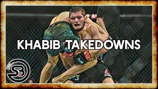Download Khabib Nurmagomedov Takedown Technique Breakdown Highlights & Study Video