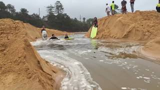 Download Terrigal river mouth opens up live ,,Awesome,, must watch kids surfing Video