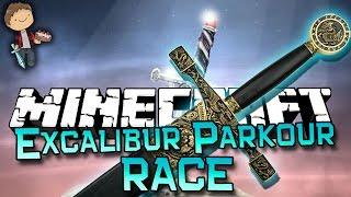 Download Minecraft: Excalibur Parkour Race Adventure w/Mitch & Jerome! Video